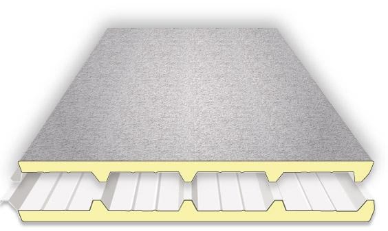 6 m² Isolierpaneele Wand Sandwichplatten Sandwichpaneele 80mm  ca