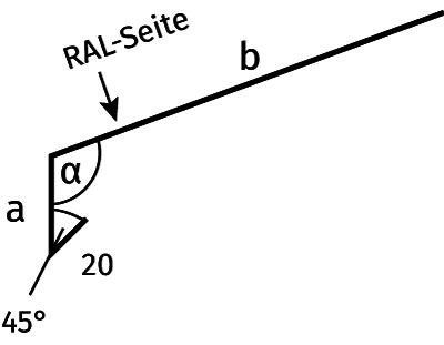 Traufblech detail  Kantteile, Kantprofile und Abschlußbleche | panel sell